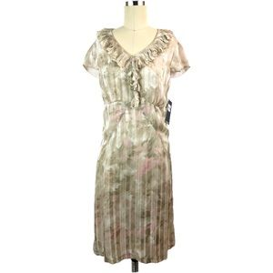 Sharon Young Dress 4 Floral Sheath New NWT